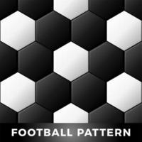Ballon de football noir et blanc classique sans soudure de fond