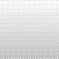 abstrait cercles blancs et gris motif trou géométrique fond et texture. vecteur