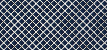 motif géométrique carré bleu avec fond de grille de ligne dorée. style de luxe vecteur