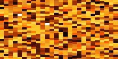 fond de vecteur orange clair avec des rectangles.