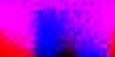 fond de vecteur bleu clair, rouge avec des formes aléatoires.