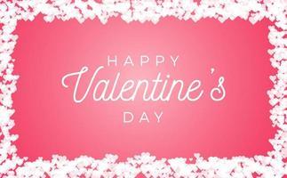 conception abstraite de carte de voeux saint valentin