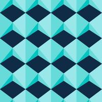 modèle sans couture de formes de bijou géométrique bleu clair