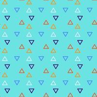 triangle fond transparent avec des formes de triangle de différentes couleurs