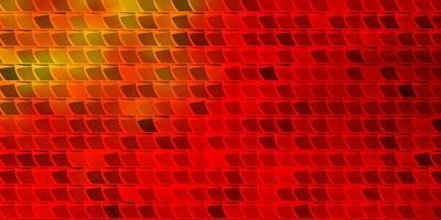 disposition de vecteur orange clair avec des lignes, des rectangles.