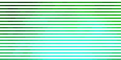 toile de fond de vecteur vert clair avec des lignes.
