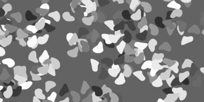 fond de vecteur gris clair avec des formes aléatoires.