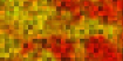texture vecteur orange clair dans un style rectangulaire.