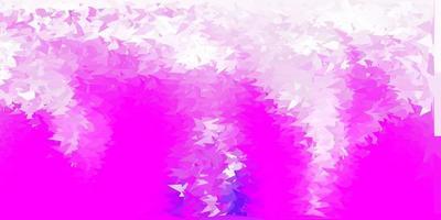 toile de fond mosaïque triangle vecteur violet clair.