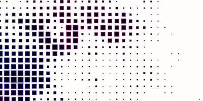 modèle de vecteur multicolore sombre avec des rectangles.