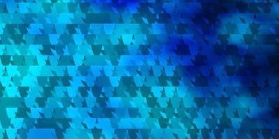 texture de vecteur bleu clair avec un style triangulaire.