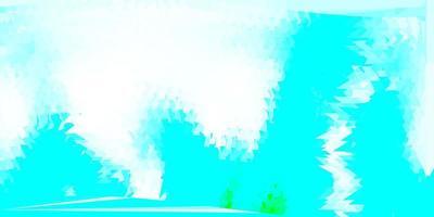 modèle de triangle abstrait vecteur bleu clair, vert.