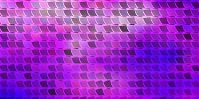 modèle vectoriel violet clair dans un style carré.