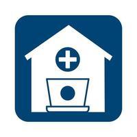 maison avec style médical croix