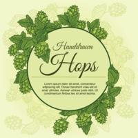 Fond de plante Hop