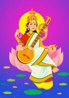saraswathi vecteur