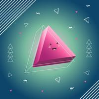 Illustration vectorielle de prisme