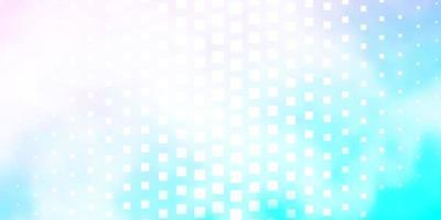modèle vectoriel rose clair, bleu dans un style carré.