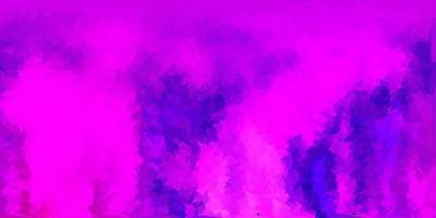 fond polygonale vecteur violet clair, rose.