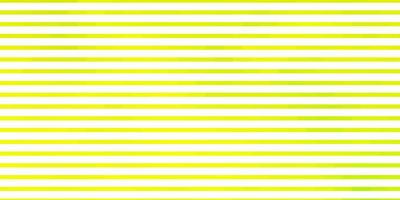 texture de vecteur vert clair, jaune avec des lignes.