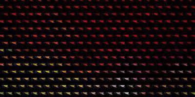 disposition de vecteur multicolore clair avec des lignes, des triangles.