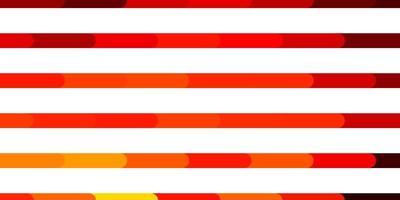 modèle vectoriel orange foncé avec des lignes