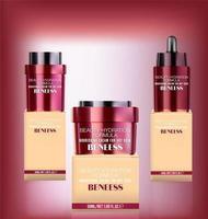 pots de bouteilles de cosmétiques, conception de modèle d'emballage de cosmétiques de luxe vecteur