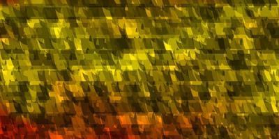fond de vecteur orange clair avec des lignes, des triangles.