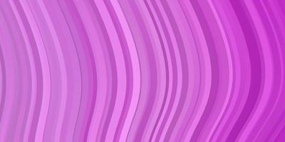 texture de vecteur rose clair avec arc circulaire.
