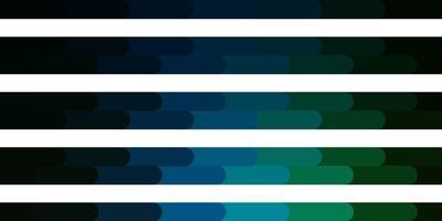 modèle vectoriel bleu foncé, vert avec des lignes.