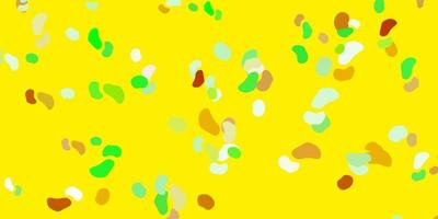 fond de vecteur multicolore clair avec des formes aléatoires.