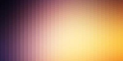 disposition de vecteur rose clair, jaune avec des lignes, des rectangles.