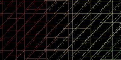 fond de vecteur rose foncé, jaune avec des lignes.