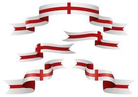 ensemble de ruban drapeau angleterre