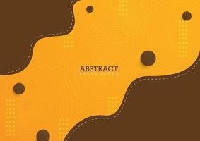 conception moderne de fond abstrait vecteur
