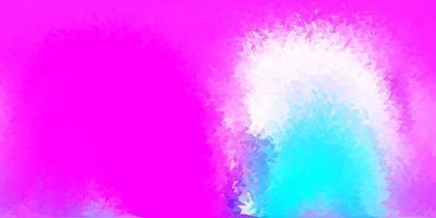 toile de fond mosaïque triangle vecteur rose clair, bleu.