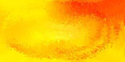 texture de polygone dégradé vecteur orange clair.