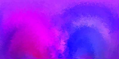 papier peint polygonale géométrique vecteur violet clair, rose.