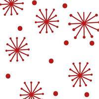 Joyeux Noël flocons de neige motif de fond vector illustration design