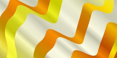 modèle vectoriel orange clair avec des lignes.