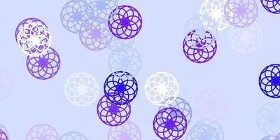 texture vecteur violet clair avec des disques.