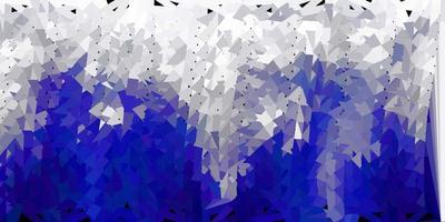 texture de triangle abstrait vecteur gris clair.
