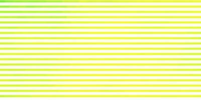 toile de fond de vecteur vert clair, jaune avec des lignes.