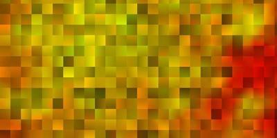 modèle vectoriel orange clair dans un style carré.