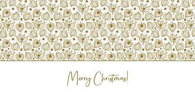 physalis, fond de texture de modèle sans couture hiver cerise. conception d'emballage floral. vecteur