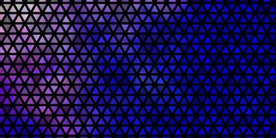 fond de vecteur rose clair, bleu avec des triangles.