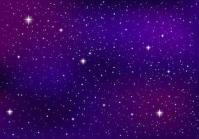 Fond galactique ultraviolet vecteur