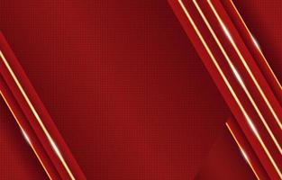 or rouge de luxe avec composition de néons