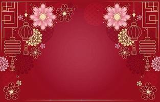 conception de fond du nouvel an chinois vecteur