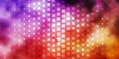 modèle vectoriel violet clair, rose avec des rectangles.
